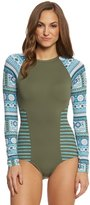 Carve Designs Women's Madeline One Piece L/S One Piece Swimsuit 8148849