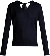 Joseph V-neck cashmere sweater