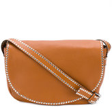 RED Valentino studded shoulder bag - women - Leather/Suede - One Size