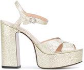 Marc Jacobs Lust platform sandals - women - Leather - 36
