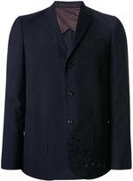 Kolor embroidered blazer - men - Polyester/Wool - 2