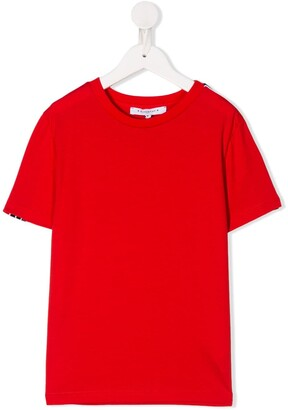 Givenchy Kids solid-color T-shirt