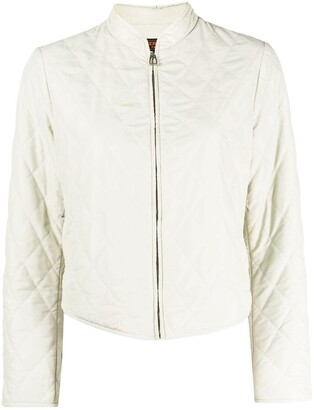 2010 Pre-Owned Diamond-Quilted Jacket