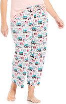 Sleep Sense Plus Happy Camper Cropped Sleep Pants