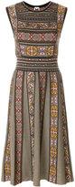M Missoni patterned panel dress
