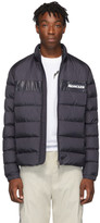 Moncler Navy Down Servieres Jacket