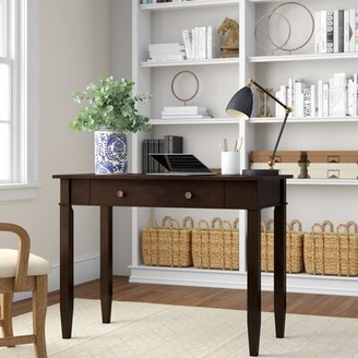 Three Posts Gateshead Writing Desk Color: Dark Tobacco Brown