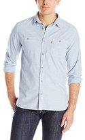 Levi's Men's Marty Chambray Long-Sleeve Shirt