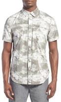 Tavik Men's 'Shin' Regular Fit Short Sleeve Print Woven Shirt