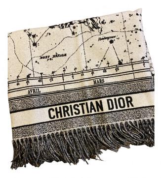 Christian Dior Multicolour Wool Textiles