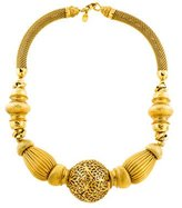 Jose & Maria Barrera Beaded Collar Necklace
