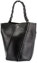 Proenza Schouler Hex Medium Whipstitch Leather Bucket Bag, Black