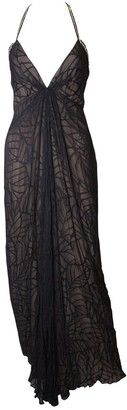 Bob Mackie Black Silk Dress for Women Vintage