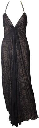 Bob Mackie \N Black Silk Dress for Women Vintage