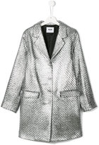 MSGM Teen single breasted coat