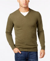 Barbour Men's Elbow-Patch V-Neck Sweater