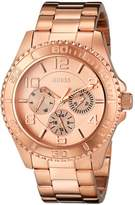 GUESS GUESS? Women's U0231L4 Rose Stainless-Steel Quartz Watch
