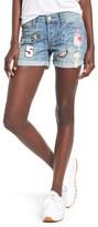 Rails Women's Logan Patch Denim Shorts