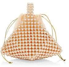 Vanina Women's Inflorescence Le Bourgeon Rose Top Handle Bag