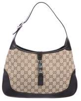 Gucci GG Canvas Jackie Hobo
