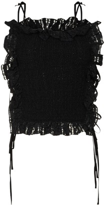 Cecilie Bahnsen Michelle ruffled top