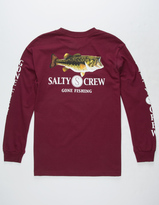 SALTY CREW Green Bass Mens T-Shirt
