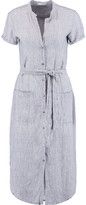 James Perse Striped linen dress