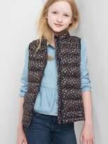 Gap ColdControl Lite print puffer vest