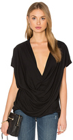 Bobi Light Weight Jersey Wrap Top