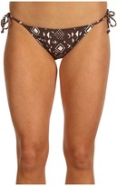 Quiksilver Tribal Classic String Bikini Bottom (Tribal) - Apparel