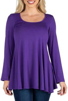 24/7 Comfort Apparel Long Sleeve Tunic