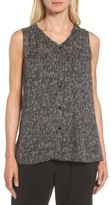 Eileen Fisher Women's Print Silk Tank