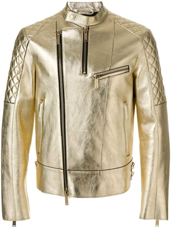 DSQUARED2 embellished biker jacket