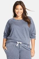 Honeydew Intimates Burnout French Terry Sweatshirt (Plus Size)