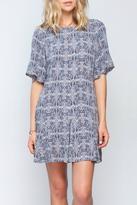 Gentle Fawn Ikat Print Dress