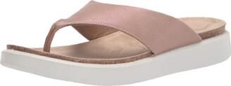 Ecco Women's Women's Corksphere Thong Flip-Flop