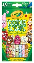 Crayola DoodleScents Markers, 18ct - Multicolor