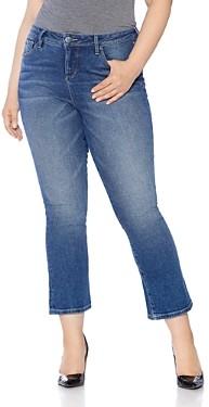 Slink Jeans Plus Flared Jeans in Nikka
