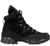 White Premiata midi treck boots