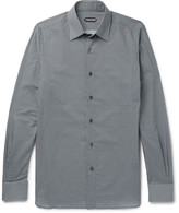 Tom Ford - Slim-fit Printed Cotton Shirt