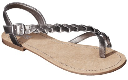Mossimo Women's Lady Sandal - Pewter