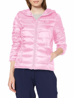 Tommy Jeans Women's Tjw Quilted Zip Thru Jacket