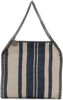 Stella McCartney striped printed tote bag
