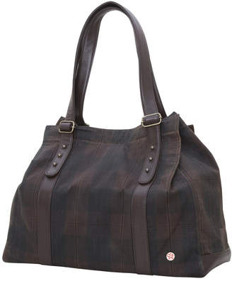 Token Crescent Waxed Tote Bag