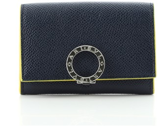 Bvlgari Business Card Holder Leather None