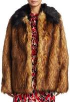 No.21 NO. 21 Oversized Faux Fur Jacket