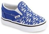 Vans Boy's 'Classic - Surf The Web' Slip-On Sneaker
