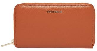 Coccinelle Metallic Soft Zip Around Wallet