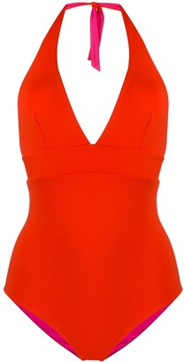 Fisico Reversible Halter Neck One-Piece