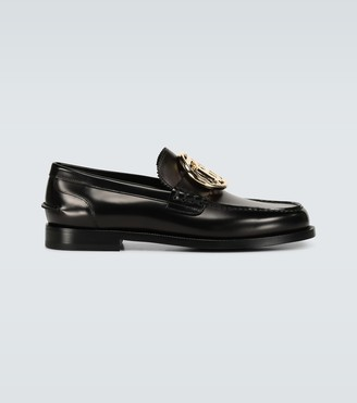 Burberry Bedmoore loafers with TB buckle